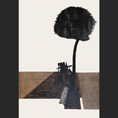 Árbol en Potosí - 110 x 75 - 110 x 75 cm