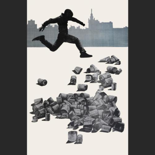 El salto de Daniel - 105 x 70 - 107 x 70 cm