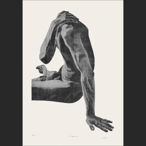 El descanso - 79 x 51 - 91 x 63 cm