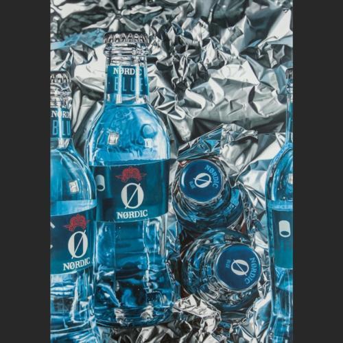 Blue dreams - 162 x 114 cm